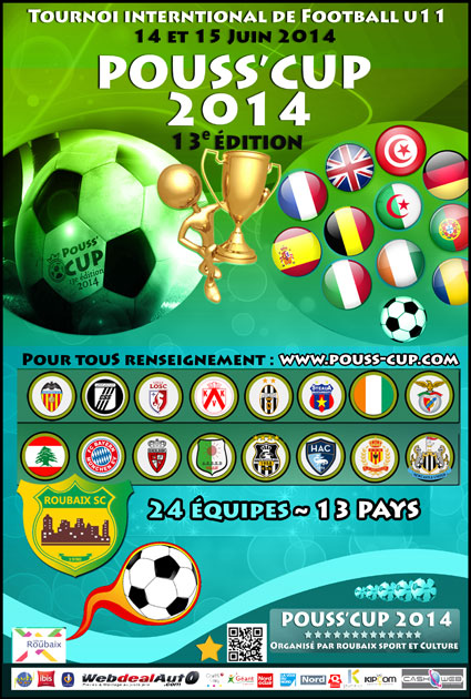 pouss cup 2014 à roubaix